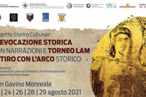 Medioevalia: dal 23 al 29 agosto a San Gavino Monreale rivive la Sardegna Giudicale